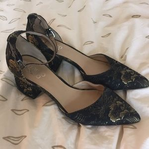 Pointed D'Orsay Heels